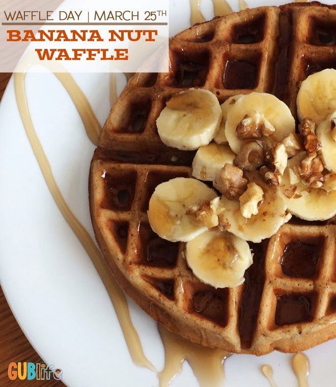 Waffle Day: Banana Nut Waffles | GUBlife: Growing Up Blackxican™