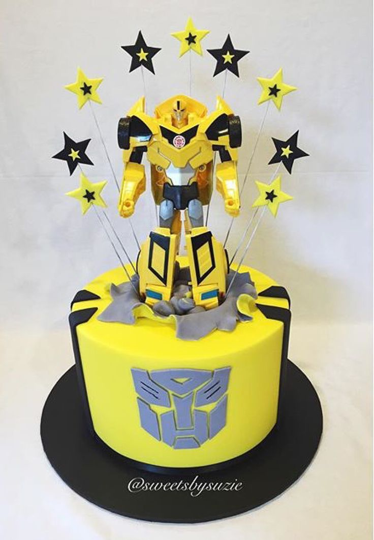 The 25 Best Transformers Birthday Cakes Ideas On
