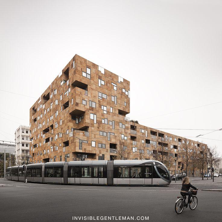 SQUARE PEY BERLAND   LAHAT architects   Bordeaux, France
