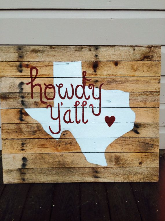 Howdy y'all! Love this!