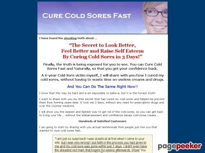 Cool Cold Sore Remedies and Cures