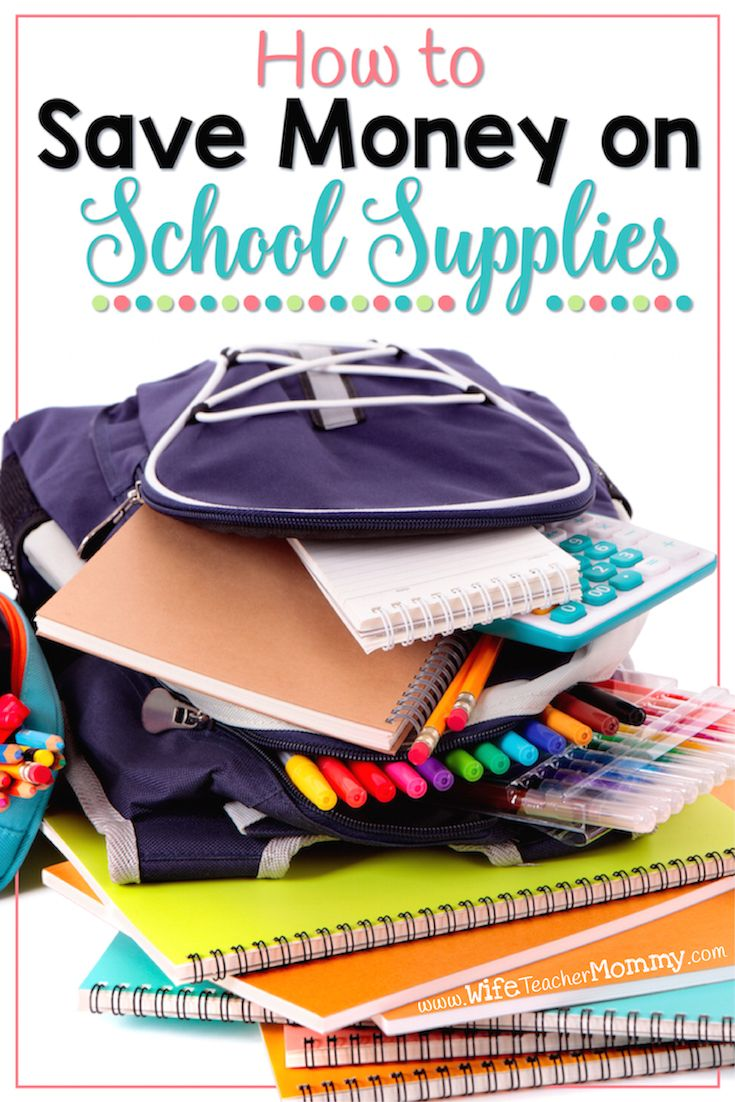 Do you need to replenish your stash of school supplies? Are you wanting to do so without straining your already tight budget? It may seem difficult when you are overwhelmed with needing to buy this