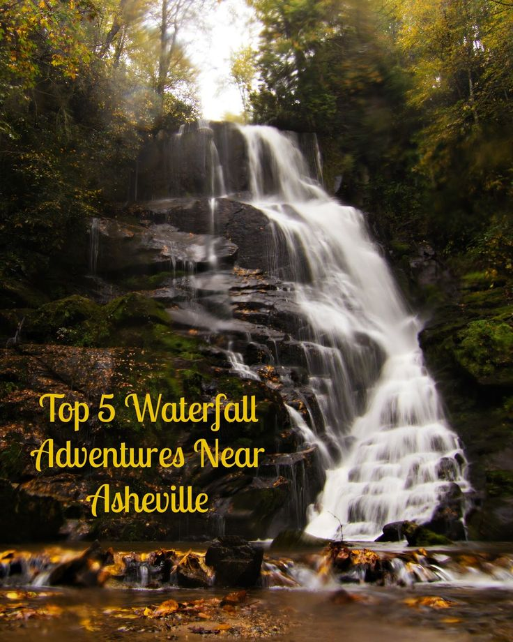 Asheville Travel Blog: Top Five Waterfall Adventures Near Asheville #ncfoodandwine #hgeats