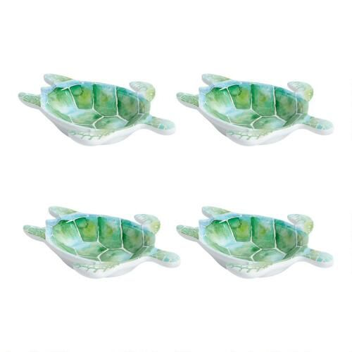 One of my favorite discoveries at ChristmasTreeShops.com: Coastal Living® Seascapes Turtle Tidbit Bowls, Set of 4