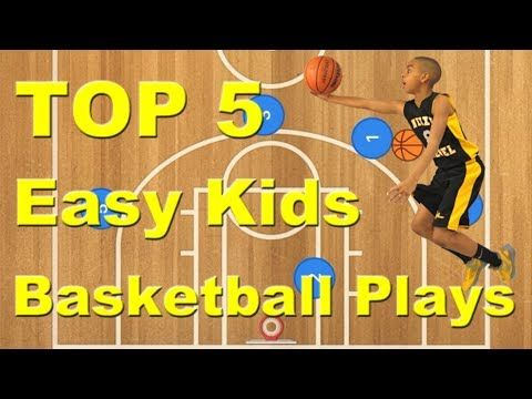 Top 5 Easy Kids Offensive Basketball Plays - YouTube