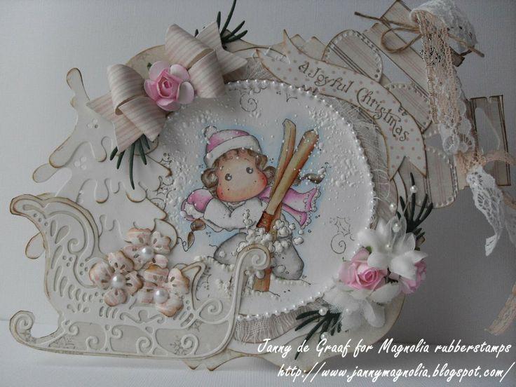 In The Snow Tilda # 49 Kerstbingo - Jannys Magnolia Blog