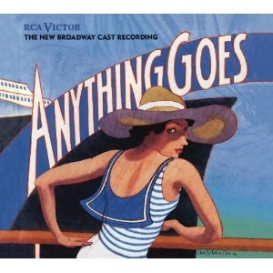 Anything GoesAlbum Covers, Music Theater, Cole Porter, Broadway Cast, Cast Records, Anything Goes, Music Theatres, Cast Album, Broadway Plays