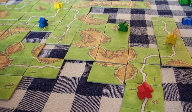 The Board Game Family reviews-Carcassonne board game