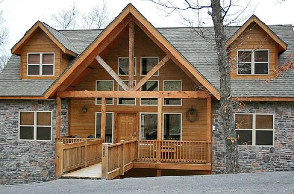 Branson vacation lodge rental 6 bedroom 6 bath sleeps for 7 bedroom cabins in branson mo