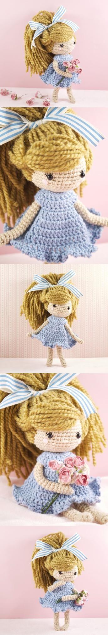 Emmy-Lou Doll Amigurumi Pattern