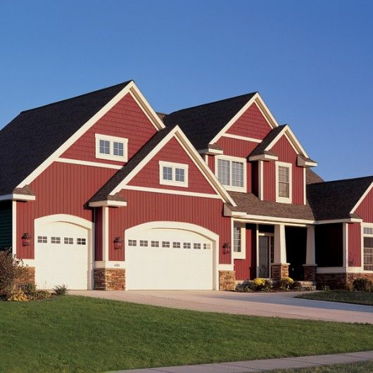 1000 images about siding on pinterest red houses steel for Norman rockwell siding