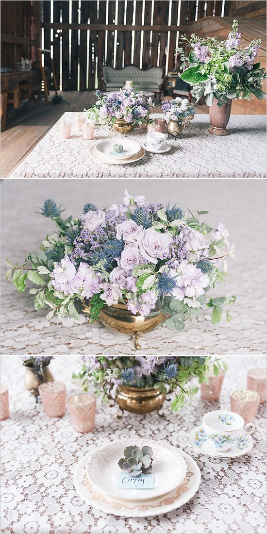 Blue and lavender wedding ideas. Captured By: 1486 Photography #weddingchicks http://www.weddingchicks.com/2014/07/14/blue-and-lavender-wedding-ideas/