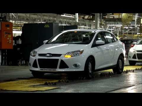 2012 Ford Focus At The Michigan Assembly Plant Youtube Ford Focus 2012 Ford Focus Ford