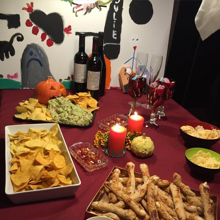 Uhyggelige festligheder til Halloween
