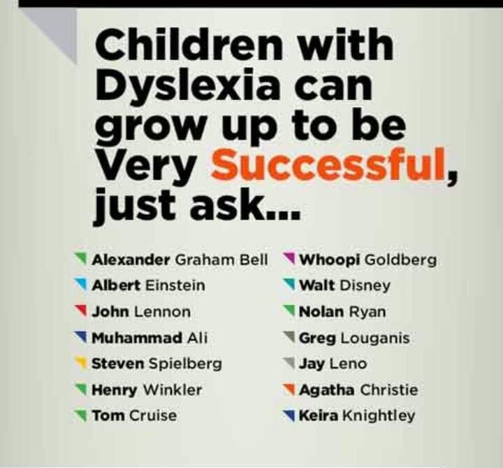 Which celebrity has a sibling with dyslexia? - Quora