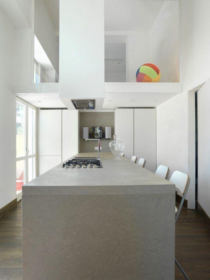 """""""Casa al Gianicolo: una residenza su 7 piani a Roma"""" via @portedilo"""