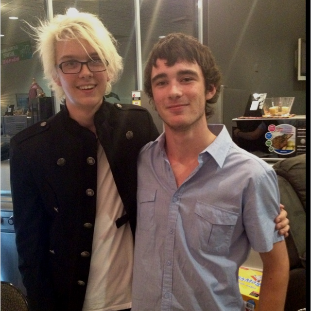 Me and Declan Sykes, Albury 2012 :)
