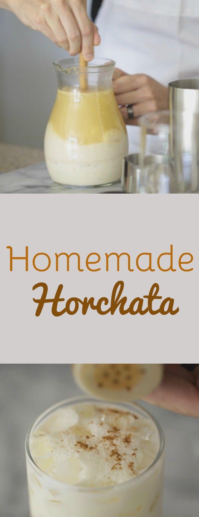 Refreshing Ice Cold Horchata Recipe | Homemade Recipes at http://homemaderecipes.com/how-to-make-horchata/