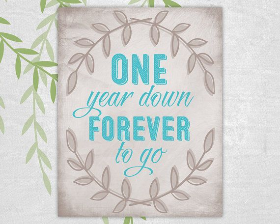 Personalized Wall Art For Couple, Custom First Anniversary
