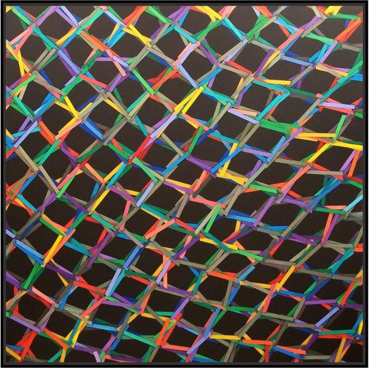 "Saatchi Art Artist Luciano de Liberato; Painting, ""the net (8)"" #art"