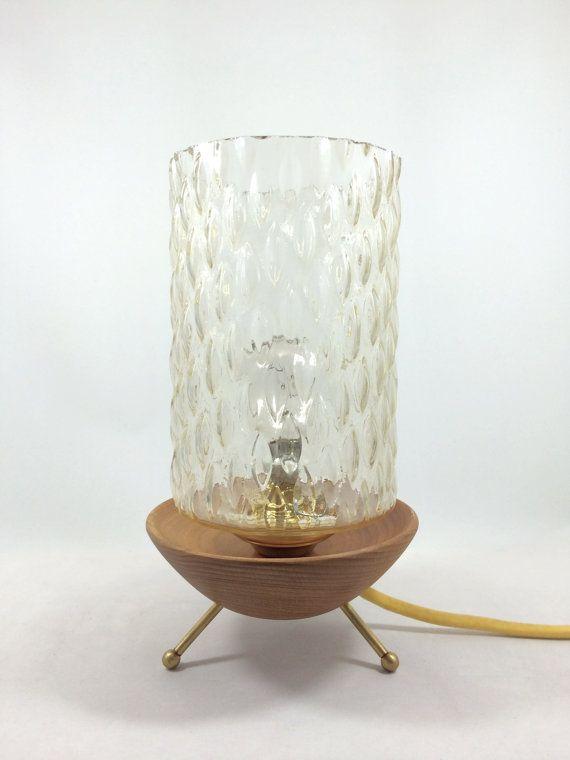 Restored Midcentury modern design lamp by Lambater on Etsy, €140.00