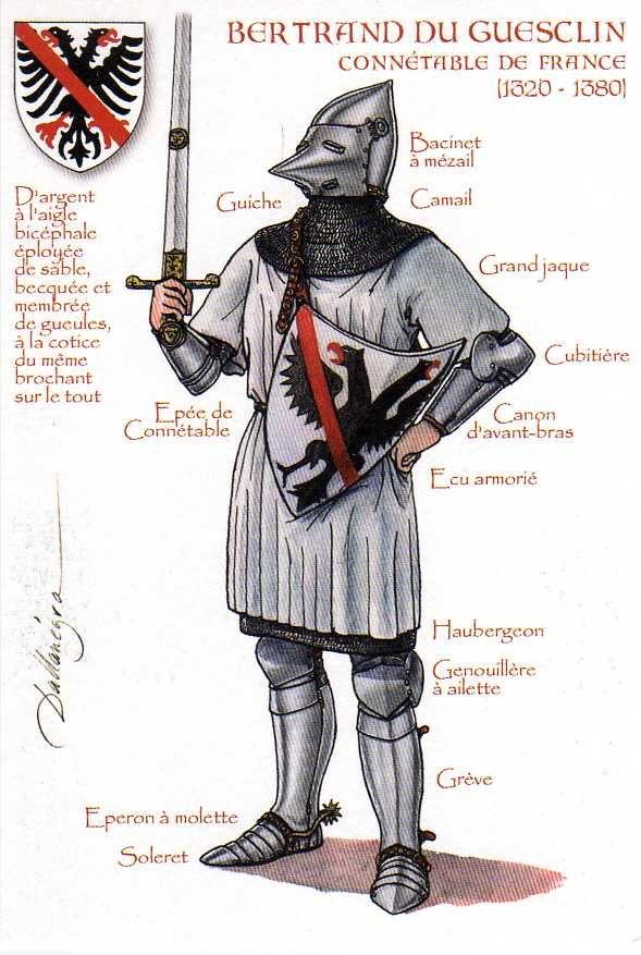 Bertrand Du Guesclin (1320-1380) | by ourpostcards
