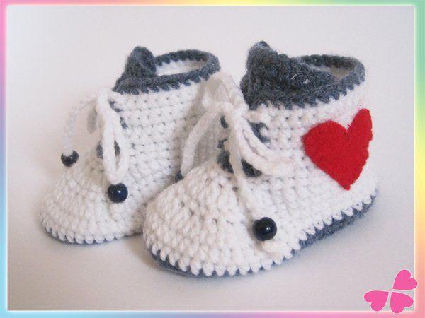 202 best Baby images on Pinterest | Babyhäkelei, Babyschuhe und ...