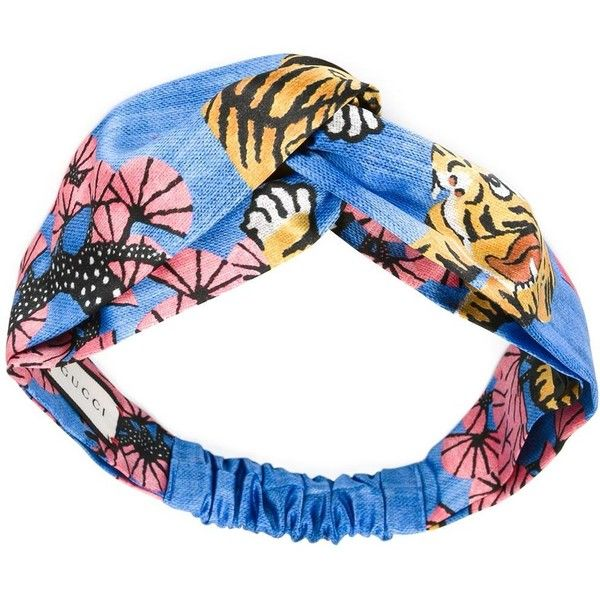 Gucci Silk Headband (197.115 CLP) ❤ liked on Polyvore featuring accessories, hair accessories, gucci, hair, light blue, head wrap headband, headband hair accessories, hair band accessories and silk headband