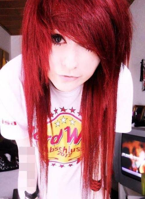 Scene hair Red - Lindo cabelo =]