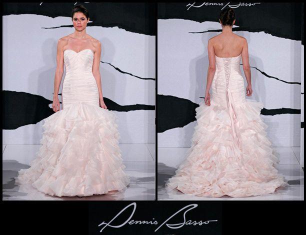 wedding fashion, bridal gown collection, Dennis Basso, wedding gown, designer wedding gowns