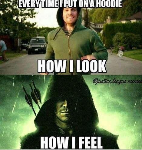 Who else loves hoodie weather? #arrow