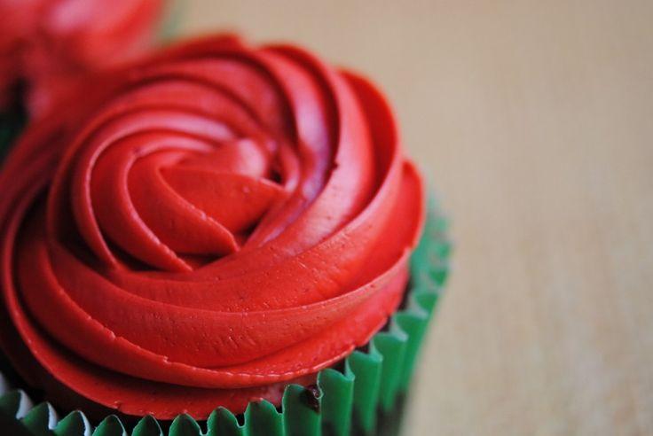 Cupcakes de Rosas, por Mericakes