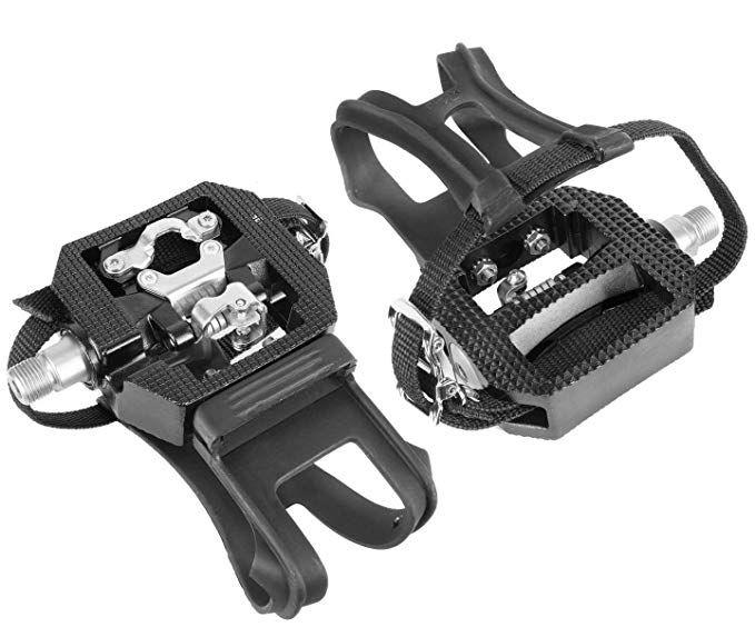 Wellgo E229 Shimano Spd Compatible 9 16 Thread Spin Bike Pedals