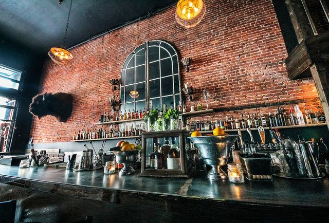 Frauds and Swindlers in the Gaslamp District of San Diego.-Get boozy snow cones and whiskey-filled punch bowls at SD's best new cocktail bar...