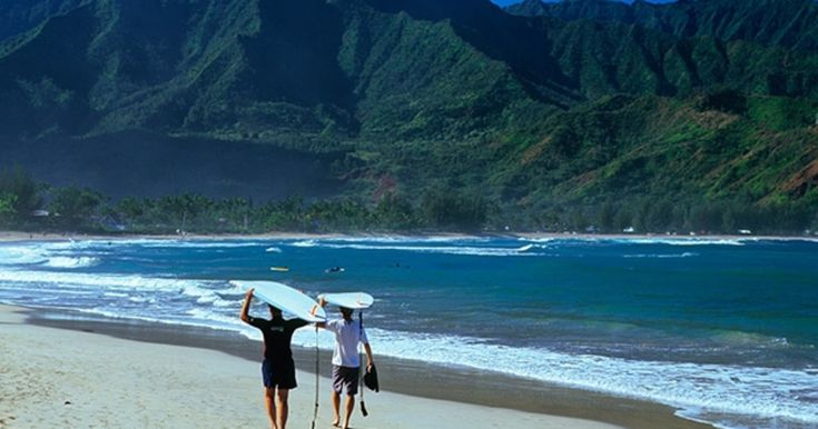 Hanalei Hawaii | Hanalei Bay: North Shore, Kauai, Hawaii | The 65 Best Surf Spots in ...