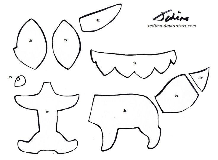 Eevee plush pattern by Tedimo.deviantart.com on ...