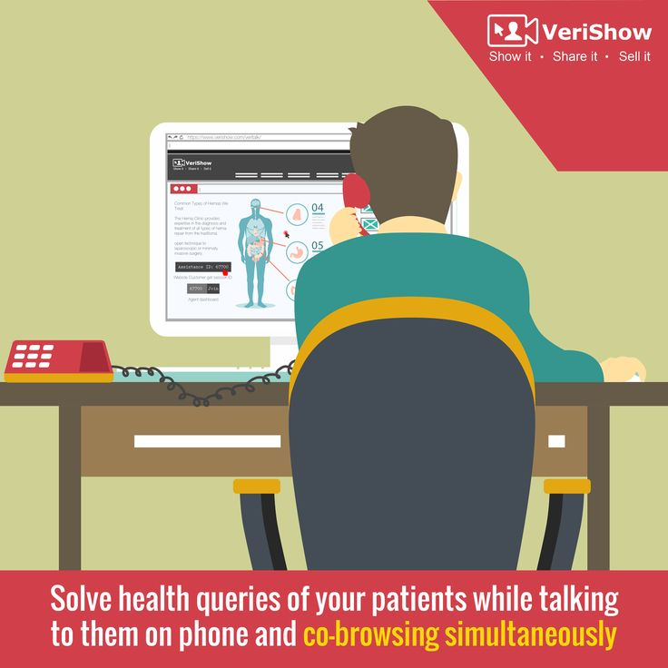 Solve #health queries of your #patients while talking to them on phone and #cobrowsing simultaneously. #healthcare