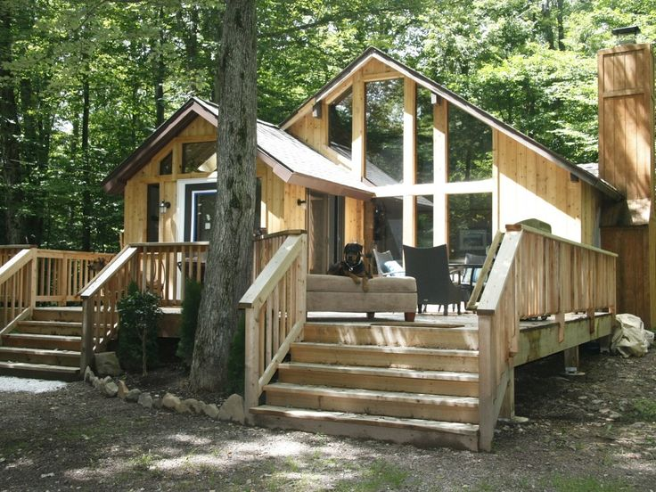 poconos private in lakefront vacation pocono beach rentals luxury cabin cabins the