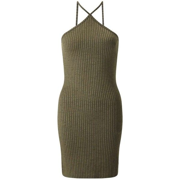Miss Selfridge PETITE Triangle Bodycon Dress (240.660 IDR) ❤ liked on Polyvore featuring dresses, olive, petite, olive dress, sexy bodycon dresses, petite dresses, brown dresses and body con dress