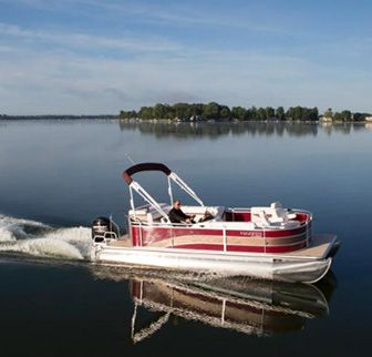 Prairie Creek Marina pontoon rentals