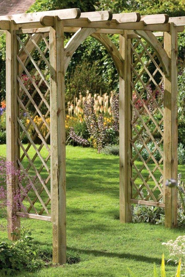 10 Beautiful Diy Garden Arbor Plans To Create Yourself To