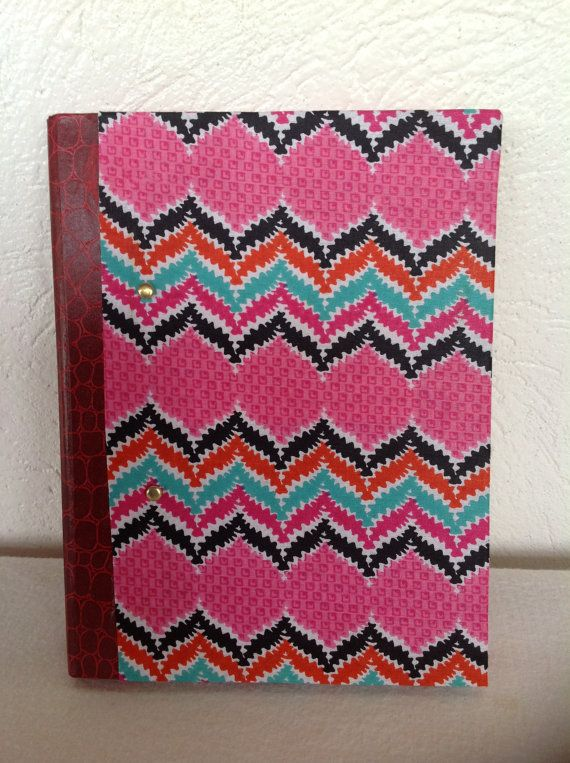 Handmade Studded ZigZag Journal by AfroStyleCheck on Etsy, $19.00