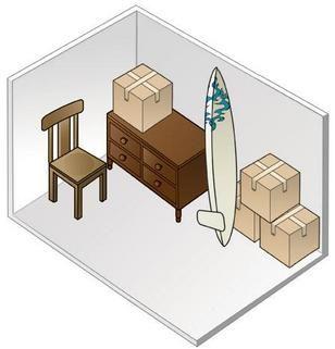 5 X 10 Storage Unit Size NEWCASTLE HEATED STORAGE - BELLEVUE AND RENTON STORAG | FIND AND RESERVE STORAGE