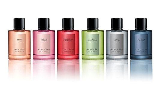 Zara Home lance sa première ligne de parfums
