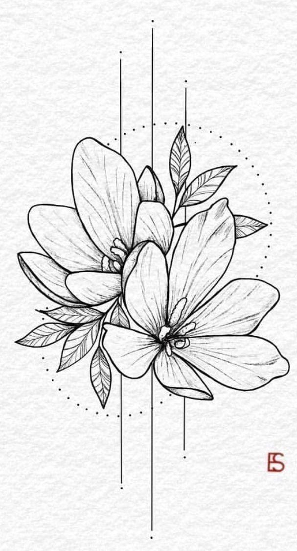 Glühbirne Blumen Zeichnung surreal Hybrid Illustration – Peggy Dean – Salvatore … #tattoos