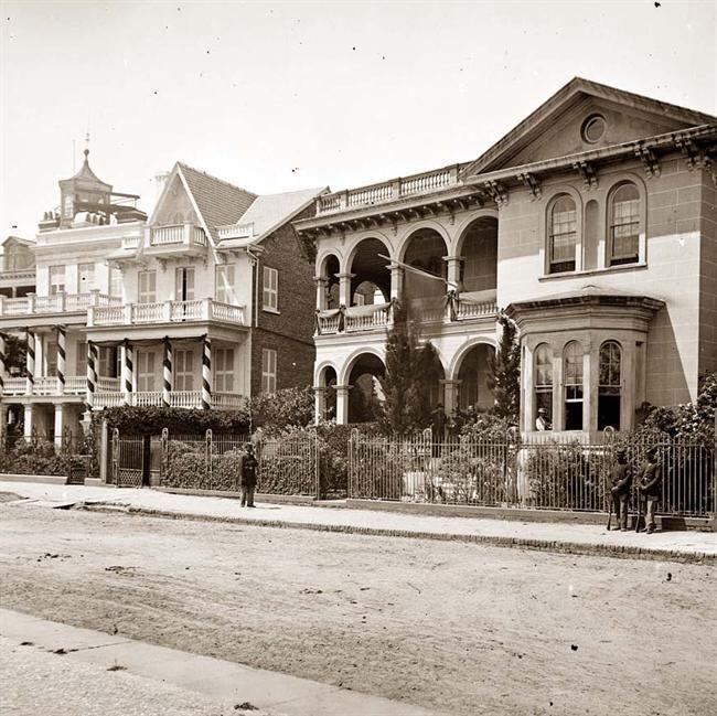 Historic Downtown Charleston Sc: Historic Charleston,South Carolina. Headquarters Of