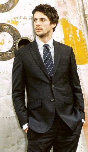 Matthew Goode deserves some love since its leap year. Well, and just because he's Matthew Goode.