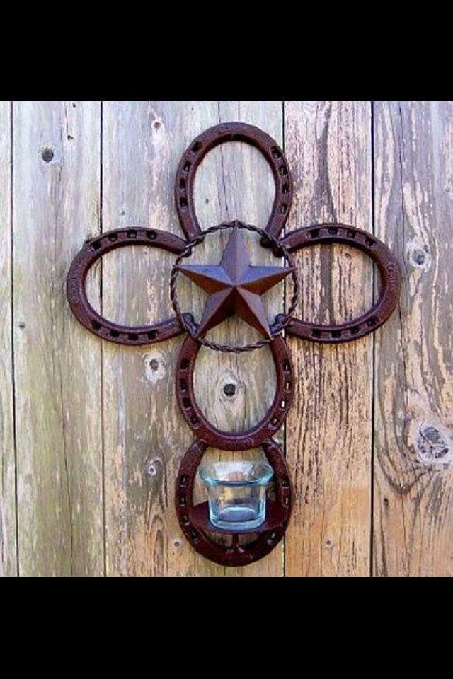 horseshoe crafts | Horseshoe cross | craft