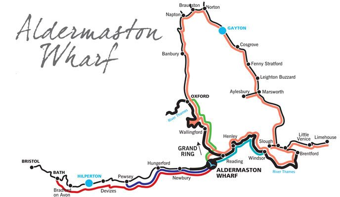 From Aldermaston you can cruise the Kennet & Avon Canal or access The River Thames. Nearby towns include Newbury, Thatcham and Reading, with Aldermaston railway station close by.