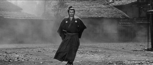 Can movement tell a story? Sure, if you're as gifted as Akira Kurosawa. More than any other filmmaker, he had an innate understanding of movement and how to capture it onscreen. J